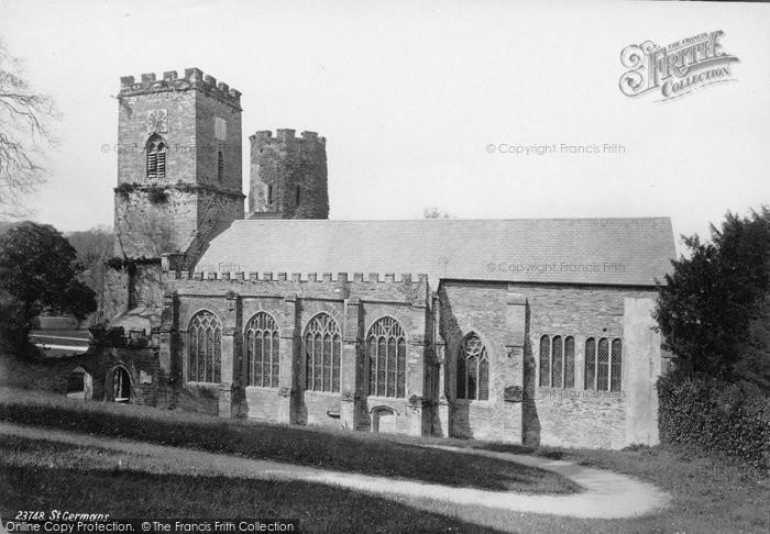 Photo of St Germans, Parish Church Of St Germans 1890