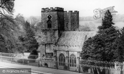 St Germans, Parish Church Of St Germans c.1955