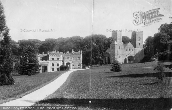 Photo of St Germans, Port Eliot And Church 1890