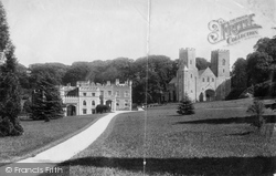 St Germans, Port Eliot And Church 1890