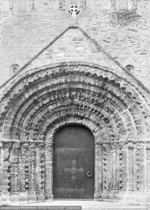Photo of St Germans, Priory Church, Norman Doorway c.1930
