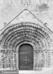 St Germans, Priory Church, Norman Doorway c.1930