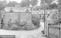 St Germans, Sir William Moyle's Almshouses From West End 1920