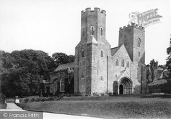 St Germans, St German's Priory Church 1890