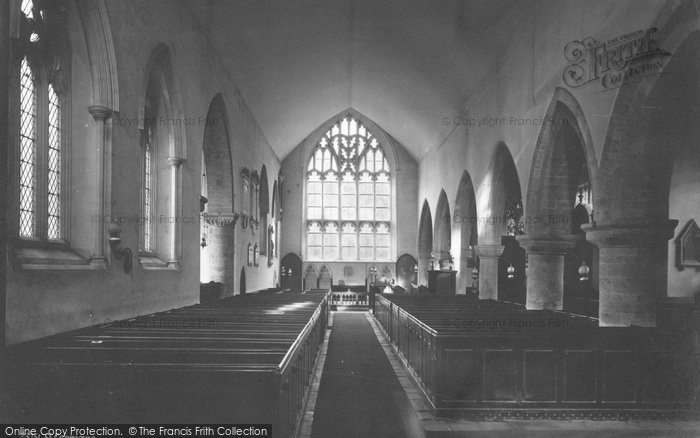 Photo of St Germans, The Church Interior 1890