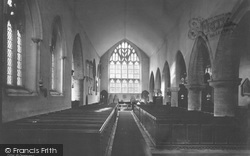 St Germans, The Church Interior 1890