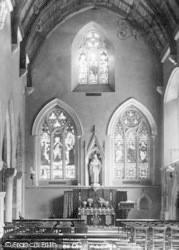 St Germans, The Church, Interior 1898
