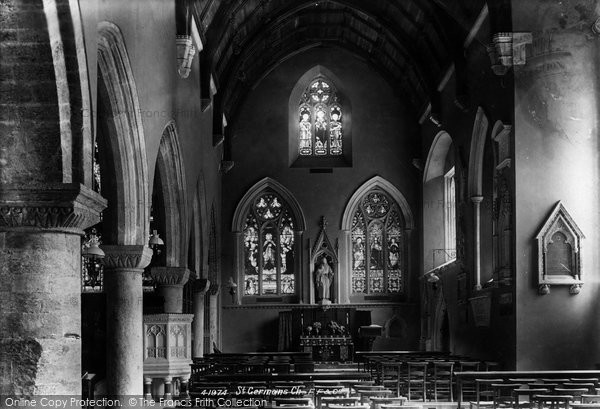 Photo of St Germans, The Church, South Aisle 1898