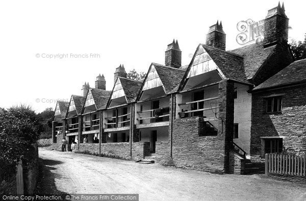 Photo of St Germans, The Old Almshouses 1890