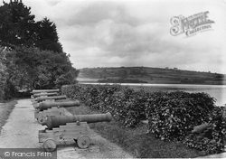 St Germans, The Old Quay Battery 1920