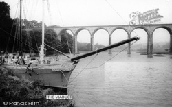 St Germans, The Viaduct And Quay c.1960