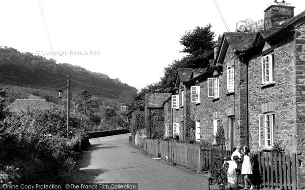 Photo of St Germans, The Village c.1955