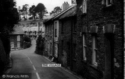 St Germans, The Village c.1955