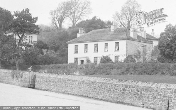 Photo of St Germans, Western View, House 1907