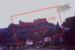 On The Rhine With Ruine Rheinfels c.1985, St Goar