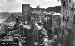 Ruin Rheinfels c.1930, St Goar