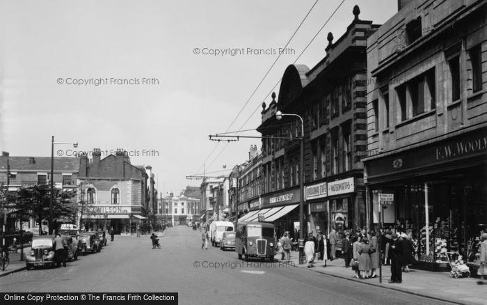 Photo of St Helens, Church Street 1952