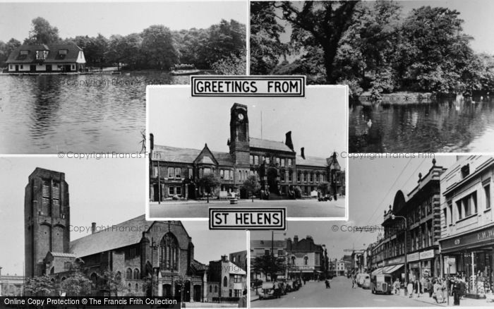 Photo of St Helens, Composite c.1955