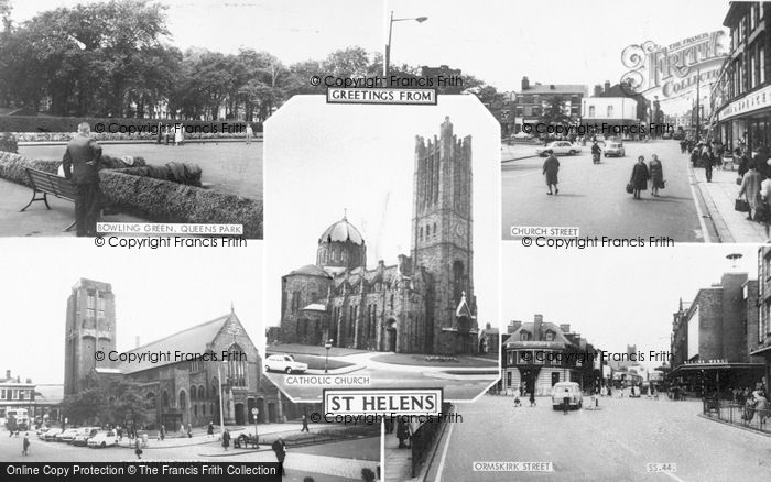 Photo of St Helens, Composite c.1965