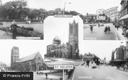 St Helens, Composite c.1965