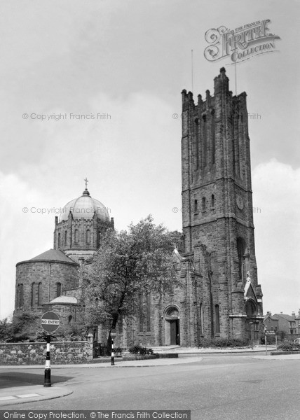 Photo of St Helens, Lowe House, St Mary's Rc Church c.1955