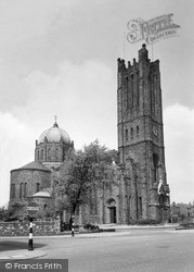 St Helens, Lowe House, St Mary's Rc Church c.1955
