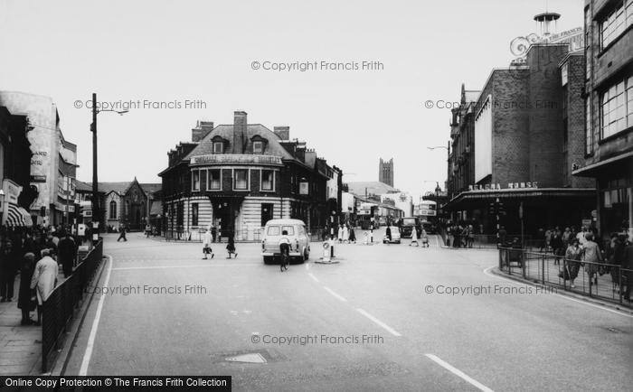 Photo of St Helens, Ormskirk Street c.1965