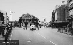 St Helens, Ormskirk Street c.1965