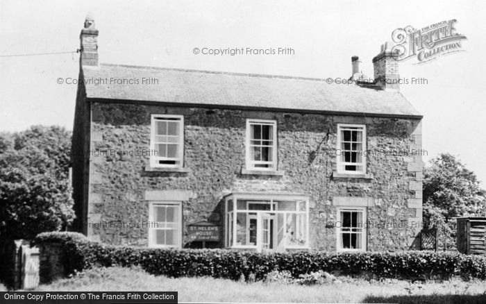 Photo of St Helens, St Helen Guest House c.1955
