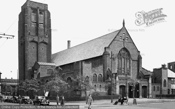 Photo of St Helens, The Parish Church c.1950