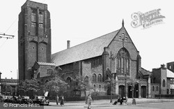 St Helens, The Parish Church c.1950