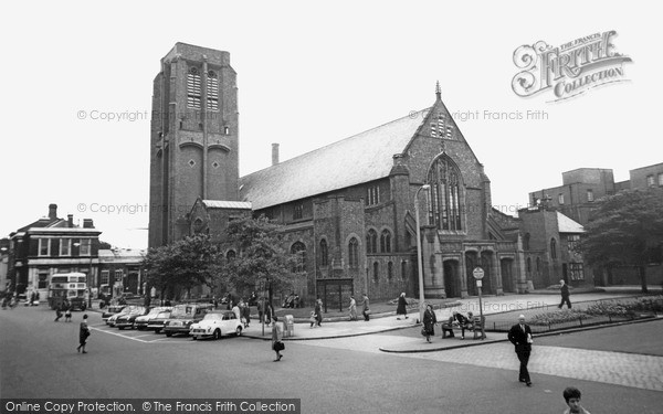 Photo of St Helens, The Parish Church c.1965