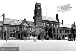 St Helens, The Town Hall c.1950