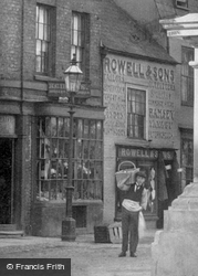 A Delivery Boy 1901, St Ives