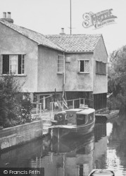 St Ives, A Riverside Mooring c.1955