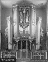 All Saints Church, Organ 1898, St Ives