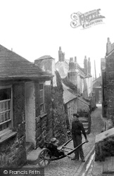 Bailey's Lane 1906, St Ives