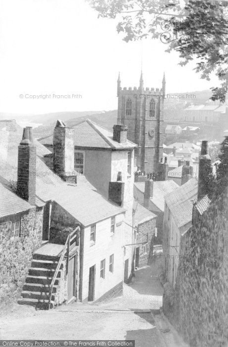 Photo of St Ives, Barnoon Hill 1898