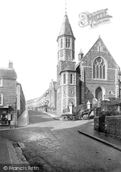Bedford Road And The United Methodist Church 1922, St Ives