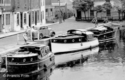 Boats At The Quay c.1955, St Ives