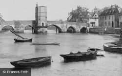 Boats On The Great Ouse 1898, St Ives