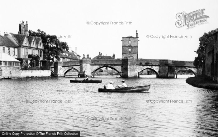 Photo of St Ives, Bridge 1899, ref. 44244