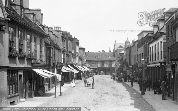 Photo of St Ives, Bridge Street 1898