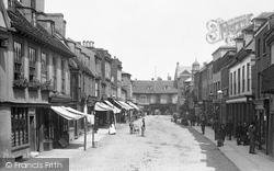 St Ives, Bridge Street 1898