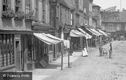 Bridge Street 1898, St Ives