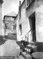 Church Place And Back Lane 1906, St Ives