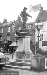 St Ives, Cromwell Memorial c.1955