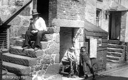 Fishermen's Quarters, Back Road East 1906, St Ives
