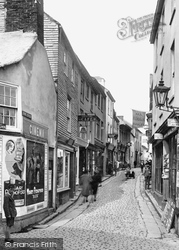 Fore Street 1922, St Ives