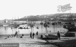 Harbour And New End Of Pier 1892, St Ives